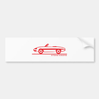 Araignée 1966 d'Alfa Romeo Duetto Veloce Autocollant De Voiture