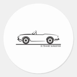 Araignée d Alfa Romeo Guilietta Autocollant Rond
