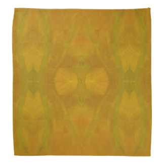 Araignée dans le Bandana jaune
