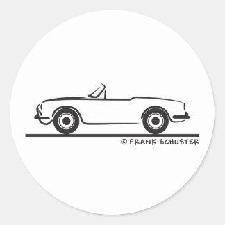 Araignée Duetto d Alfa Romeo Giulia Adhésif