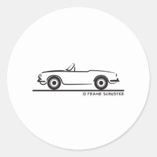 Araignée Duetto d Alfa Romeo Giulia Autocollants
