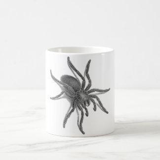 Aranea Avicularia, araignée cubaine noire Mug