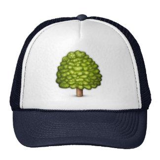 Arbre à feuilles caduques - Emoji Casquette Trucker