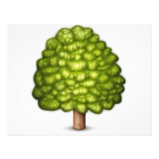 Arbre à feuilles caduques - Emoji Prospectus 21,6 Cm X 24,94 Cm