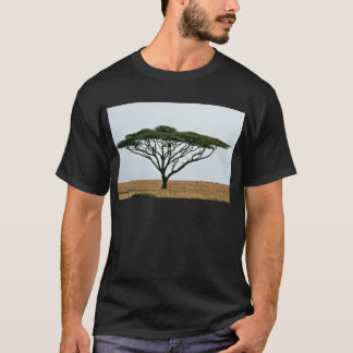 Arbre d'acacia d'épine de parapluie t-shirt