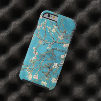 Arbre d'amande de floraison par Vincent van Gogh Coque iPhone 6 Tough