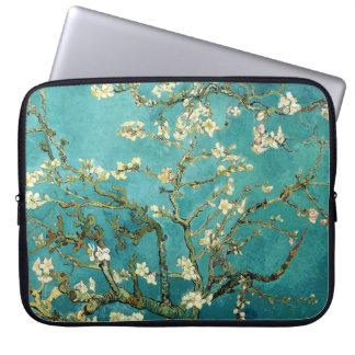 Arbre d'amande de floraison Van Gogh floral Trousses Ordinateur