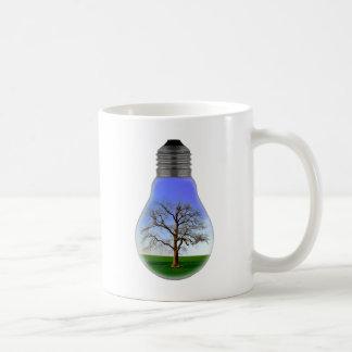 Arbre dans une ampoule mug