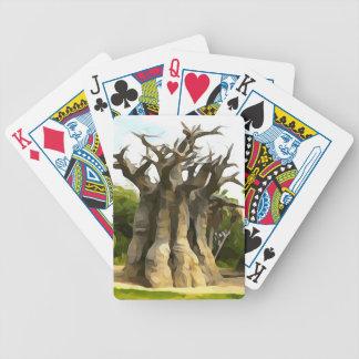Arbre de Baobub Jeu De Cartes