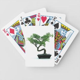 Arbre de bonsaïs cartes à jouer