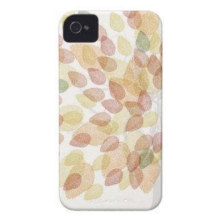Arbre de bouleau dans des couleurs d'automne coques Case-Mate iPhone 4