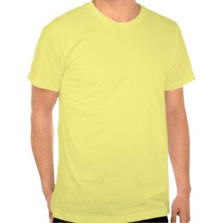 Arbre de clef triple, brun t-shirt