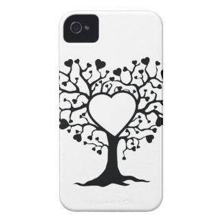 Arbre de coeur coques Case-Mate iPhone 4