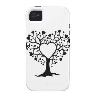 Arbre de coeur étui iPhone 4