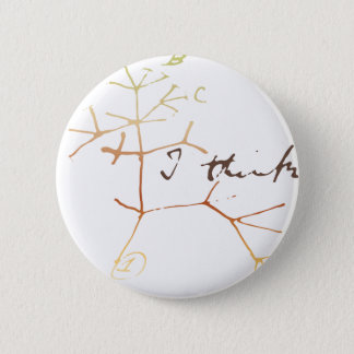 Arbre de Darwin de la vie : Je pense Badges