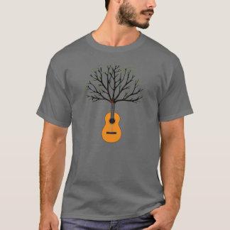 Arbre de guitare t-shirt