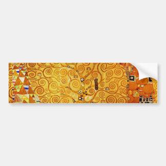 Arbre de Gustav Klimt d'art Nouveau de la vie Autocollant De Voiture