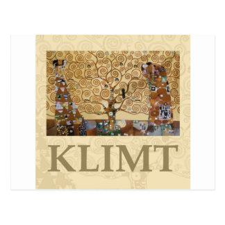 Arbres klimt cartes postales for Biographie de klimt