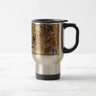 Arbre de Gustav Klimt de la vie Mug De Voyage