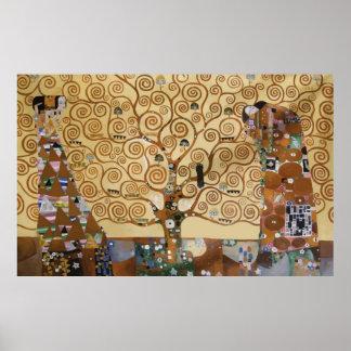 Cadeaux arbre de la vie t shirts art posters id es for Biographie de klimt