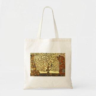 Arbre de Gustav Klimt de sac fourre-tout à la vie