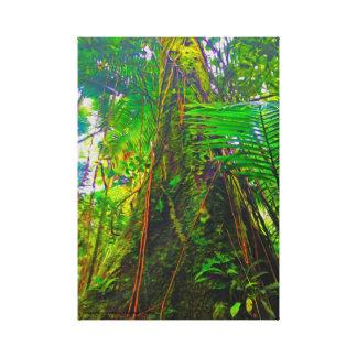 Arbre de jungle toile