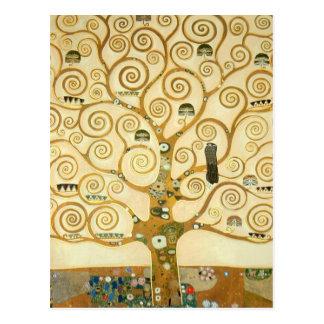 Arbre de la vie par Gustav Klimt Carte Postale