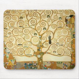 Arbre de la vie par Gustav Klimt Tapis De Souris