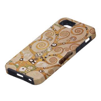 Arbre de la vie par Klimt, symbole stylisé de Coque iPhone 5