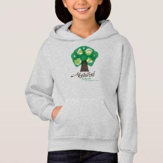 Arbre de MSCU et sweat - shirt à capuche de logo