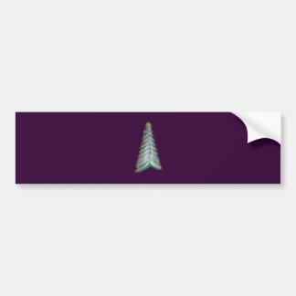 Arbre de Noël arbre de Noël christmas tree Autocollant De Voiture