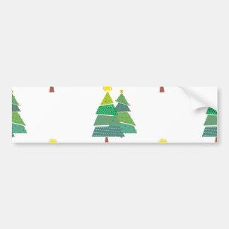 Arbre de Noël arbre de Noël christmas tree Adhésif Pour Voiture