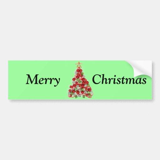 Arbre de Noël Adhésif Pour Voiture