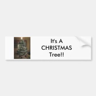 Arbre de Noël Autocollant Pour Voiture