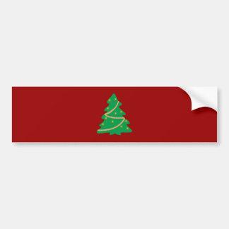 Arbre de Noël christmas tree Autocollant Pour Voiture