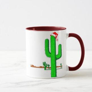 Arbre de Noël de cactus - tasse