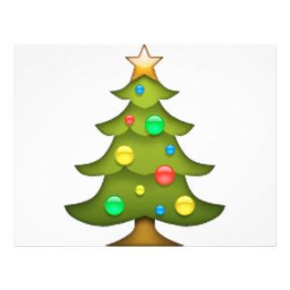 Arbre de Noël - Emoji Prospectus 21,6 Cm X 24,94 Cm