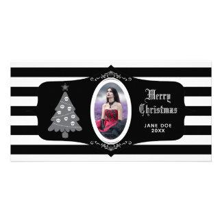 Arbre de Noël gothique avec le carte photo de