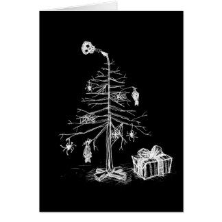 Arbre de Noël gothique Carte De Vœux