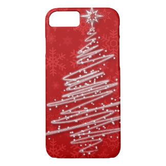 Arbre de Noël griffonné Coque iPhone 7