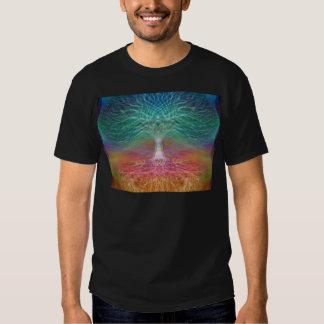 Arbre de paix de l'esprit de la vie t-shirt
