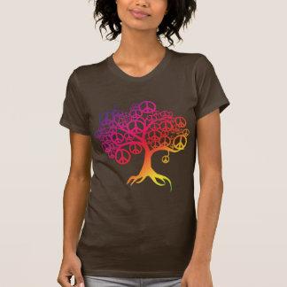 Arbre de paix t-shirts