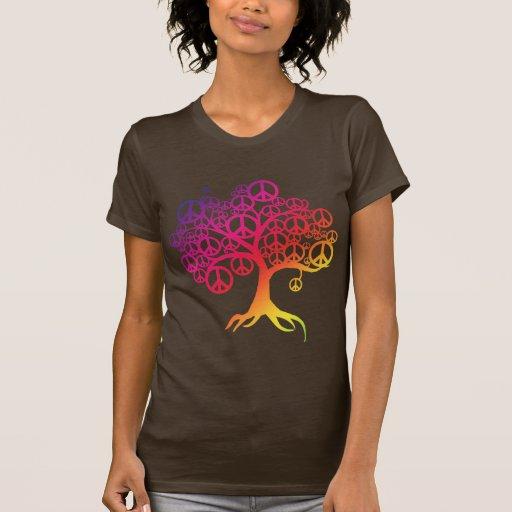 Arbre de paix t-shirt