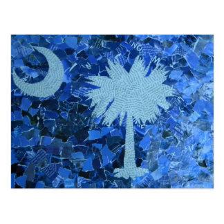 Arbre de Palmetto de la Caroline du Sud Carte Postale