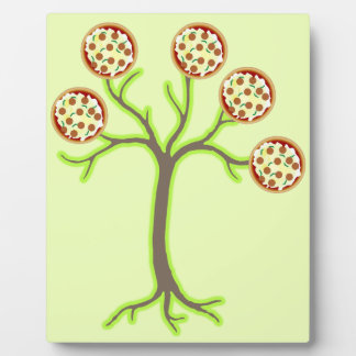 arbre de pizza plaque photo