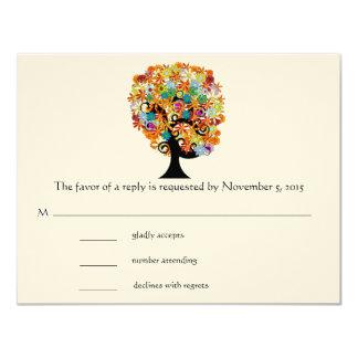Arbre de promesse - cartes lunatiques des arbres