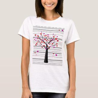 Arbre de Saint-Valentin T-shirt