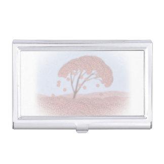 arbre de Sakura de porte-cartes de carte de visite Porte-cartes De Visite