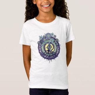 Arbre de T-shirt de filles de mandala