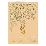 Arbre de vie (Tree of Life) Carte De Vœux